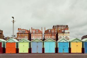 Colorful Huts