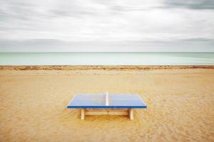 Ping Pong at the Beach