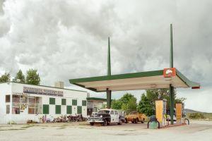 Gassing up in Radiator Springs